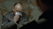 Bormann covers with a Handkerchief