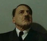 Hitler's face