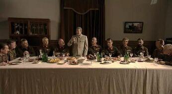 Stalin eating scene