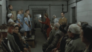The Goebbels children singing with Magda