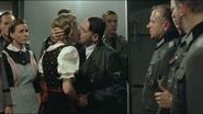 Hitler kisses Eva