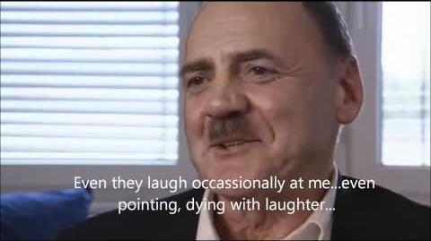 Hitler actor Bruno Ganz interview about Youtube Downfall Parodies