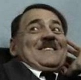 Hitler trollface close-up