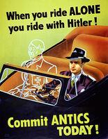 Fegelein Riding Alone poster