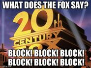 What does 20th Century Fox say