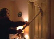 Jack Torrance breaking door