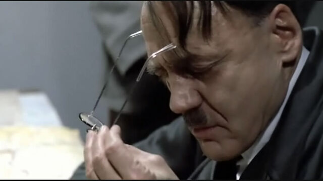 File:Original bunker scene Hitler taking off glasses.jpg