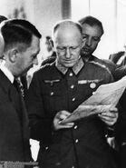 Fegelein Looks Behind Jodl