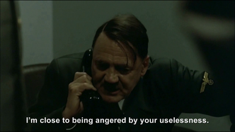 Hitler phones George W. Bush