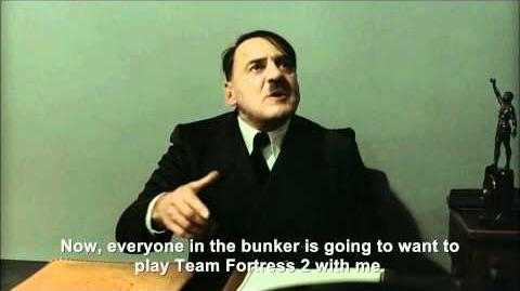 Hitler is informed Team Fortress 2 is now free-to-play