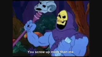 Hitler encounters Skeletor