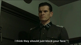 Hitler is informed Constantin is blocking some parodies yet again