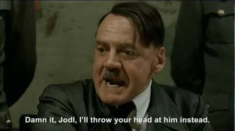 Hitler throws book at President Obama