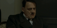 Chicken noises in Hitler's office