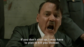 Hitler plans to tell Jodl to shut up