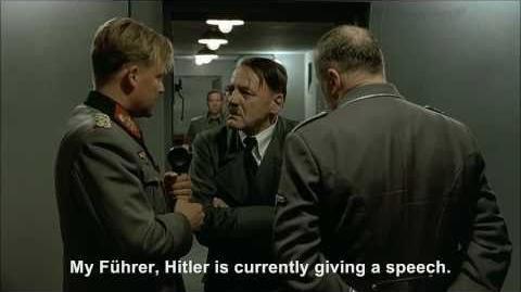 Hitler phones Family Guy Hitler