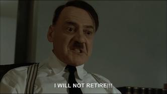 Eva wants Hitler to retire