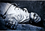 Fabian's corpse in Diana's ICA File