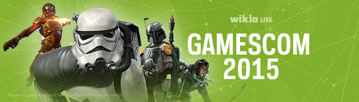 Gamescom 2015 Blog Header