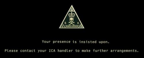 Hitman Handler Mission Invite-in-secrecy