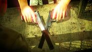 Fight Night-47's pistols