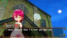 Aurelia Wedding Dialogue