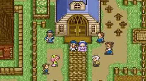Harvest Moon Snes - Maria's Wedding