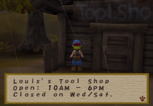 Louis's Tool Shop Hours