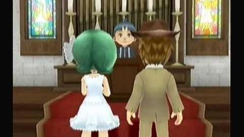 "Harvest Moon Animal Parade ""Calvin & Phoebe - Marriage"""