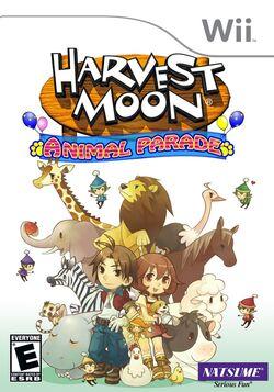 Harvest Moon Animal Parade box