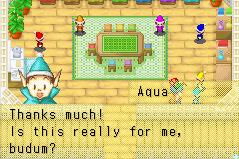 Brooch Aqua