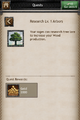 Quests - Research Arboretum - Kingdoms of Middle Earth.PNG