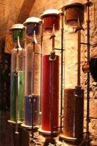 Great hall hourglasses