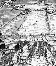 Holy cross pyramid
