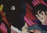 Kenshiro punches kokuoh