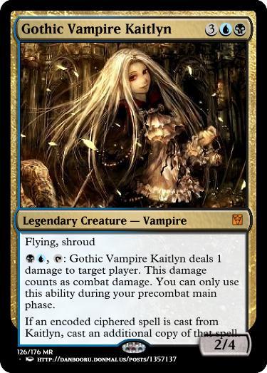 Gothic Vampire Kaitlyn