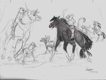 (old) Boar vs. Ripfang
