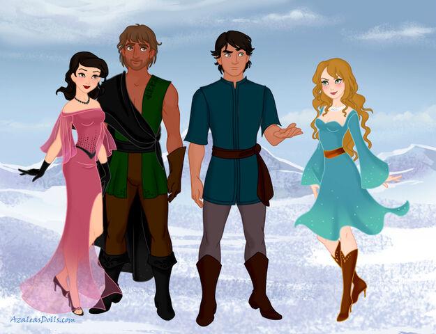 File:Snow-Queen-Scene-Maker-Azaleas-Dolls Whegg and family.jpg