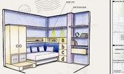 Contoh Sketsa Interior Kamar Anak, Proses Desain Interior di Annahape Studio