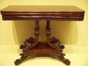 American Furniture - mahogany card table