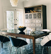 Claire forlani dining room