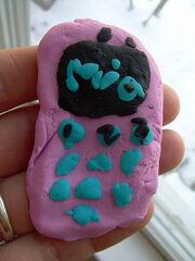 Play-dough cell phone