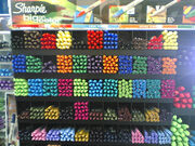 Rainbow of Sharpies