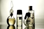 Perfumes in bottles