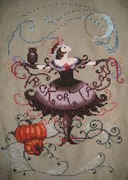 Cross Stitch - Halloween Fairy