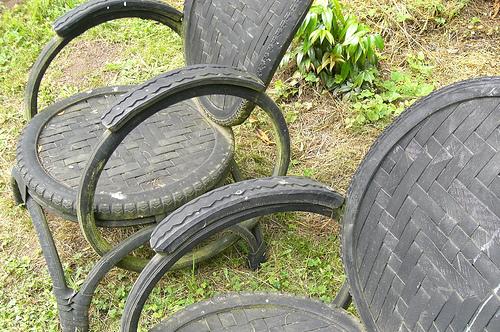 File:Bike tire chairs.jpg