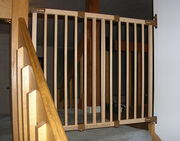 Back Stairs Off Limits