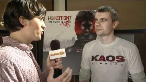 Homefront Interview Multiplayer Reveal