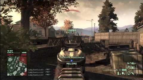 Homefront Scar-L Triple Kill