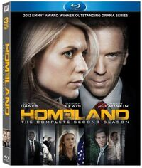 Homeland Season 2 Blu-ray